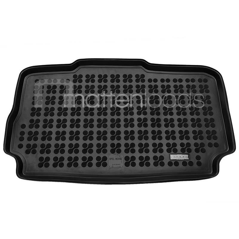 Kofferbakmat Opel Meriva lage vloer met veschuifbarekofferbakmatOpel Meriva lage vloer met veschuifbarekofferbakschaal