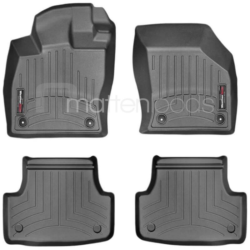 Zwarte 3d automatten Volkswagen Golf VII 2012-heden