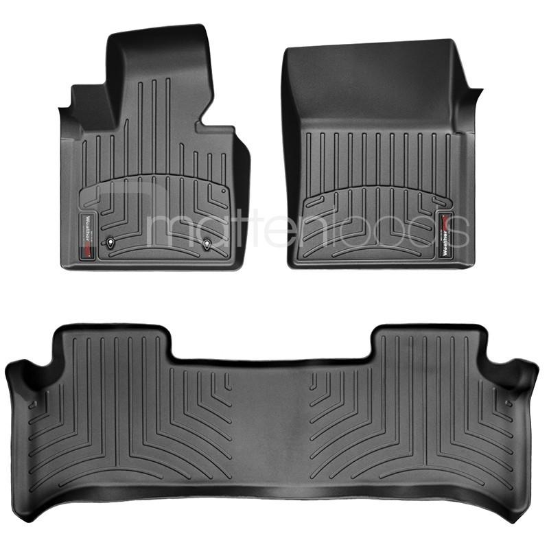 Luxe automatten Range Rover 2010 zwart