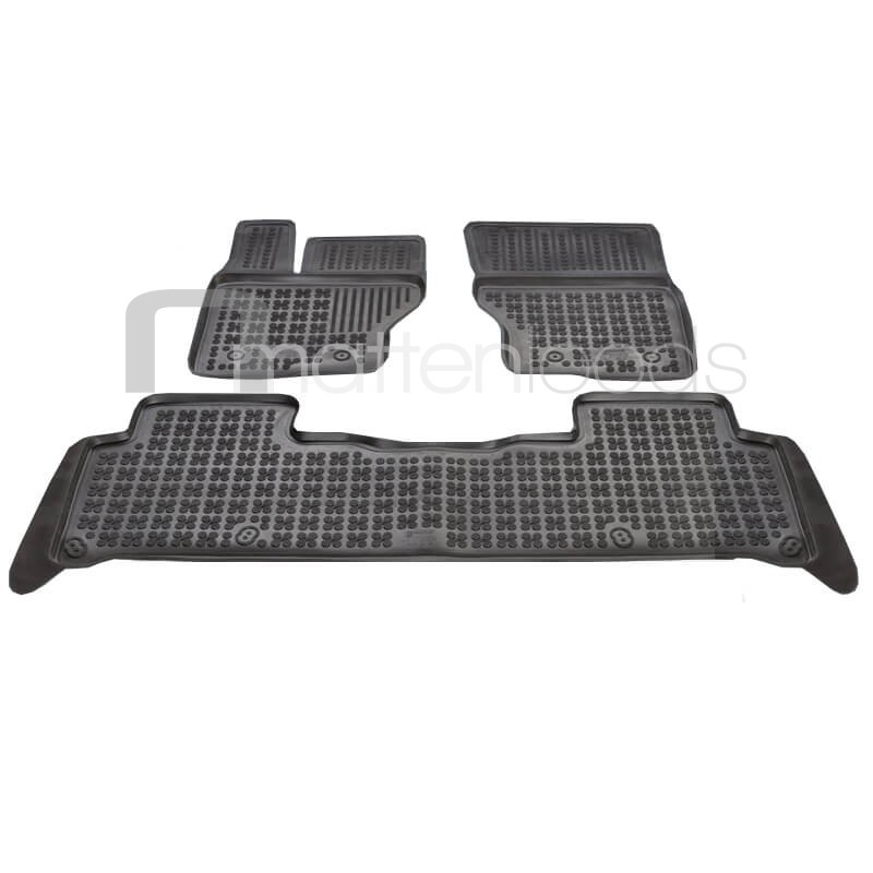 Rubber automatten Land Rover Discovery 7-zits 2017-heden