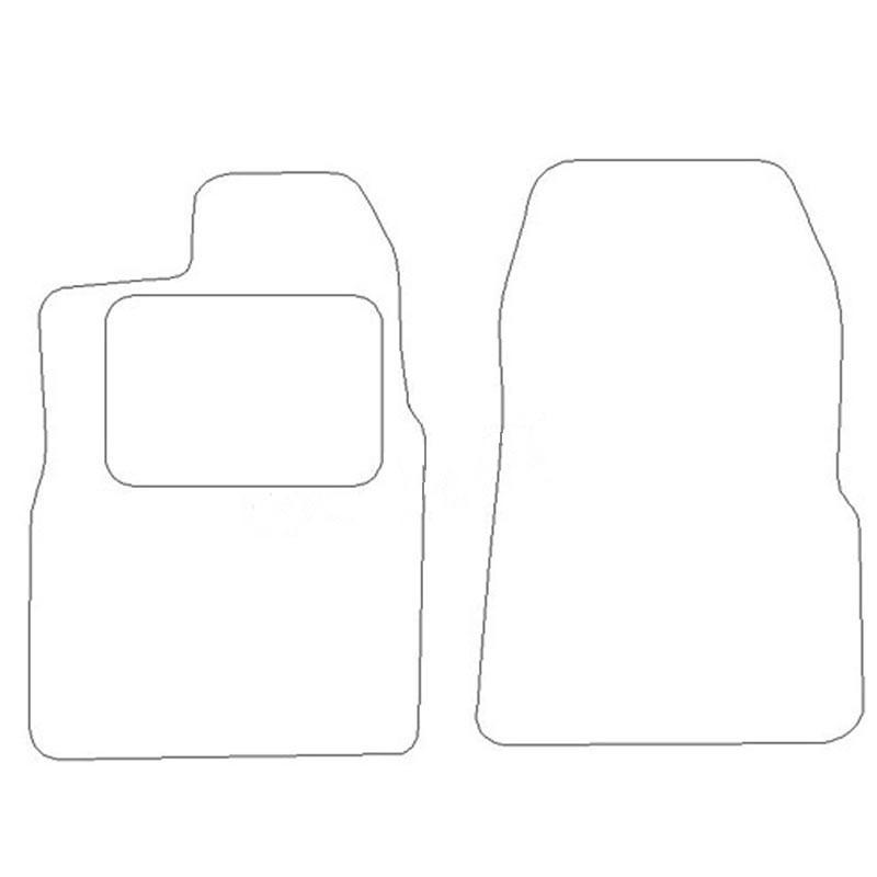 Goedkope automatten Ford Trans Custom voorset 2013-2015