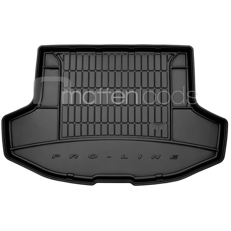 All Weather rubber kofferbakmat Mitsubishi Lancer Sportback hoge vloer met thuiskomer 2007-2016
