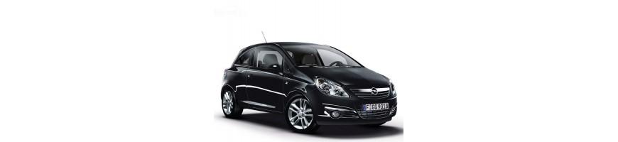 Automatten Opel Corsa E | Rubber kofferbakmat Opel Corsa E