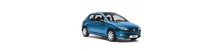 Automatten Peugeot 206 Plus | Kofferbakmat Peugeot 206 Plus