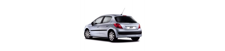 Automatten Peugeot 207 | Rubber kofferbakmat Peugeot 207