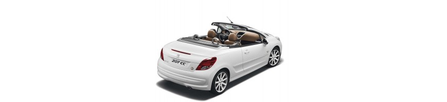Automatten Peugeot 207CC | Kofferbakmat Peugeot 207CC