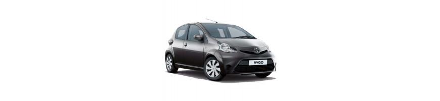 Automatten rubber Toyota Aygo | Kofferbakmat Toyota Aygo