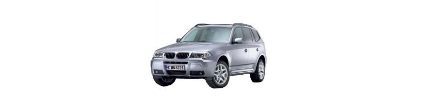 Automatten BMW X3 E83 | Rubber kofferbakmat BMW X3 E83