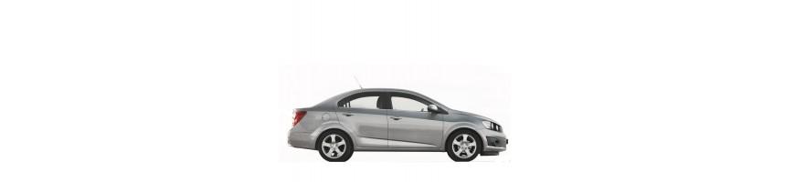 Automatten Chevrolet Aveo Sedan | Kofferbakmat Chevrolet Aveo Sedan