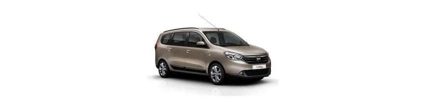 Automatten Dacia Lodgy | Rubber kofferbakmat Dacia Lodgy