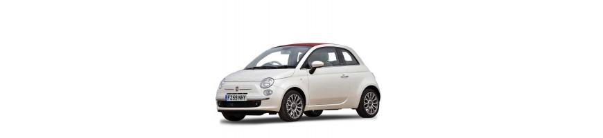 Automatten Fiat 500/500 C   Kofferbakmat Fiat 500/500 C