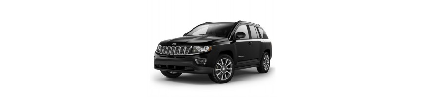 Automatten Jeep Compass | Rubber kofferbakmat Jeep Compass