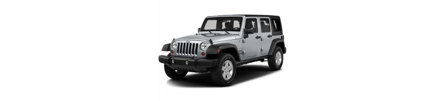 Automatten Jeep Wrangler | Kofferbakmat Jeep Wrangler