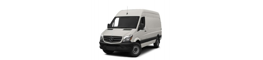 Rubber matten Mercedes Sprinter | Kofferbakmat Mercedes Sprinter