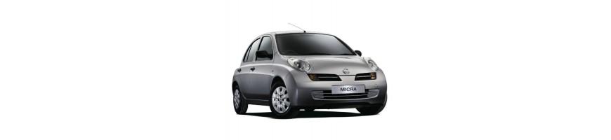 Automatten Nissan Micra K12 | Kofferbakmat Nissan Micra K12