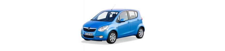 Automatten Opel Agila B | Rubber kofferbakmat Opel Agila B