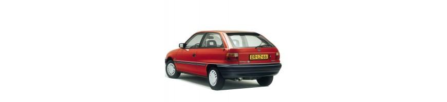 Automatten Opel Astra F | Rubber kofferbakmat Opel Astra F